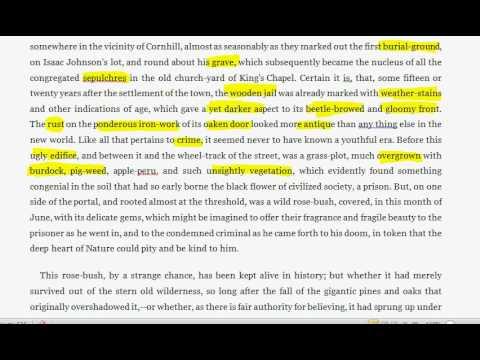 annotation tsl the prison door - youtube