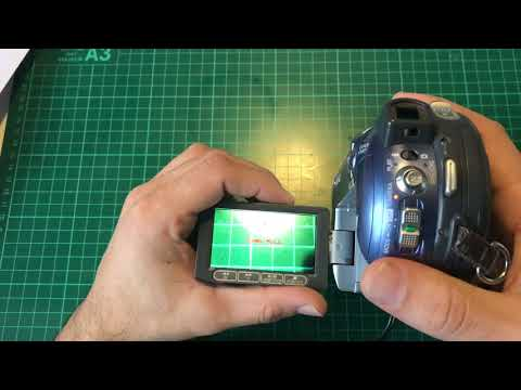 Canon DC201 How To Finish A MiniDVD