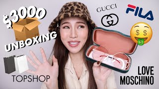 S$3000 SHOPPING SPREE at YOOX 💰 (unboxing + try-on) | nicolechangmin