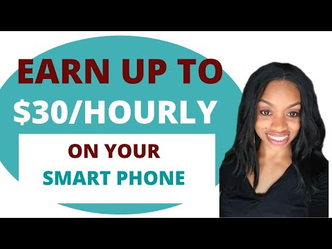 Earn $10-$30 Hourly Using Your Smartphone I Work From Home Jobs For Everyone!