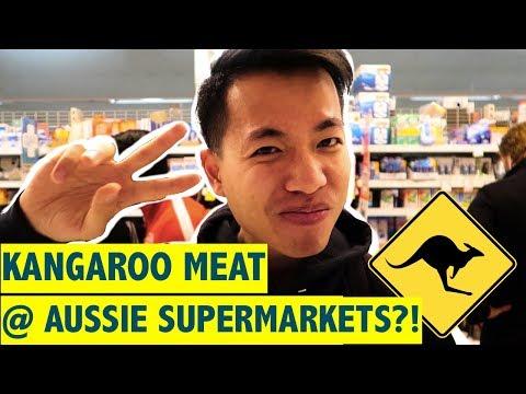 AUSSIE SUPERMARKET GROCERY RUN @ Coles Vlog!! 🇦🇺   [CC中字]澳洲超市有袋鼠賣?!