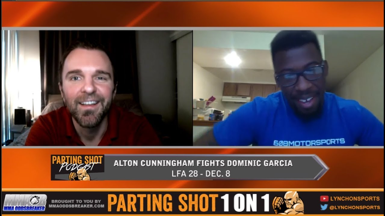 Undefeated Middleweight prospect Alton Cunningham talks LFA debut this Friday