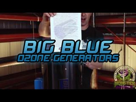 Blue Ozone Generators For Grow Rooms Indoor Garden Ducting Smell You