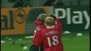 Manchester United Yorke and Cole