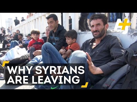 Syrian Refugees Explain Why They Fled Syria