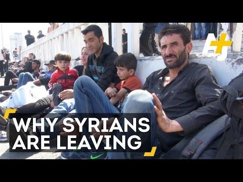 Syrian Refugees Explain Why They Fled Syria