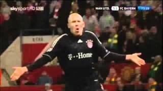Robben v Manchester United