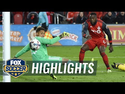 Toronto FC vs. Columbus Crew SC | 2017 MLS Playoff Highlights