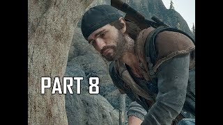 DAYS GONE Walkthrough Part 8 - First Date (PS4 Pro Let's Play)