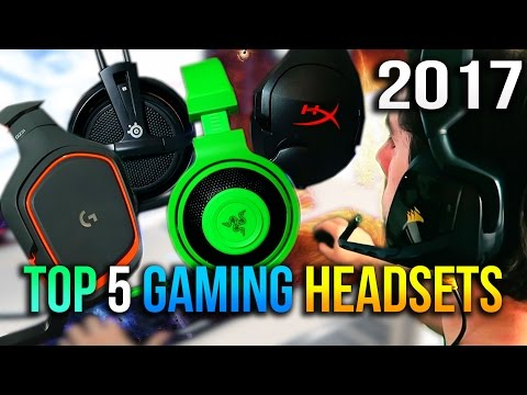 Top 5 Gaming Headsets to Buy Under $50 in 2017