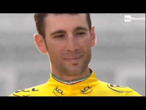 Vincenzo Nibali vince il Tour de France 2014, L'inno di Mameli suona per Nibali