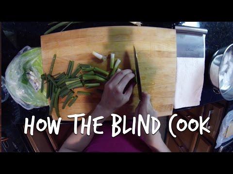 MasterChef winner Christine Ha shows how the Blind cook