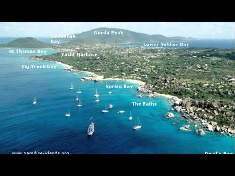 The Baths British Virgin Islands Map YouTube - British virgin islands map