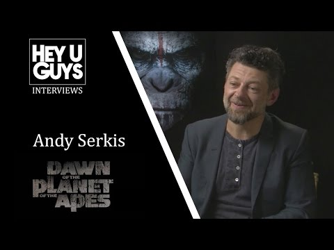Andy Serkis Interview - Dawn of the Planet of the Apes