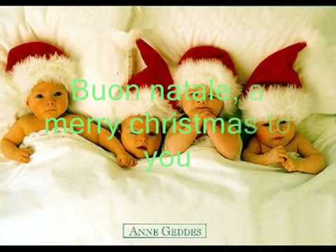Buon natale (means a Merry Christmas to you) - YouTube