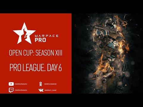 Open Cup: Season XIII Pro League. Day 6