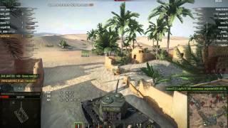 Т-44, Песчаная река, Встречный бой