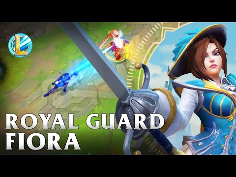 Royal Guard Fiora Skin Spotlight - WILD RIFT