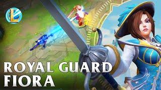 Royal Guard Fiora Skin Spotlight - WILD RIFT
