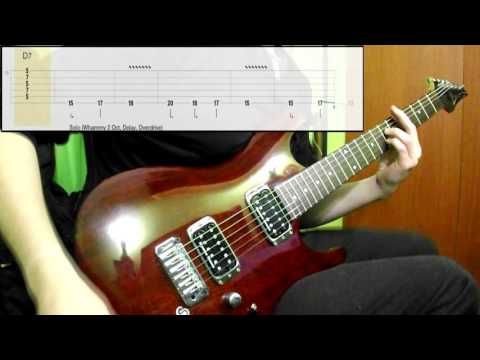 Audioslave - Like A Stone (Guitar Cover) (Play Along Tabs In Video)