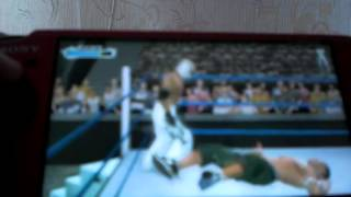 Обзор игры на PSP WWE SmackDown! vs. RAW 2009