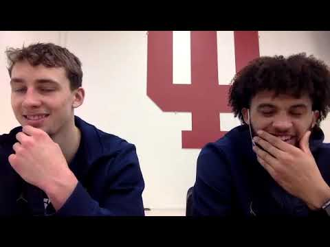 Franz Wagner & Isaiah Livers - Indiana Postgame - Michigan Wolverines Basketball
