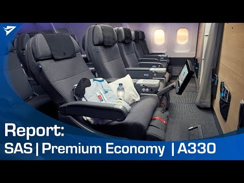 FLIGHT REVIEW: SAS Plus (premium economy) A330-300 [HKG - ARN]