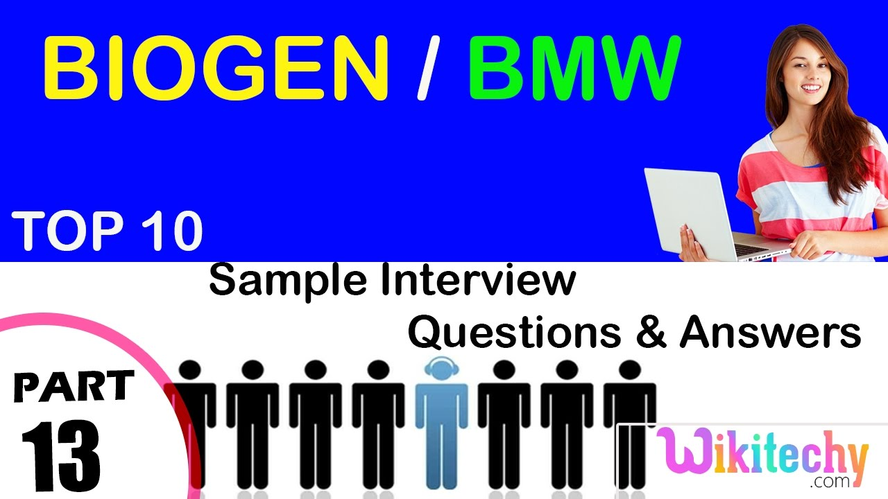 Top 30 Financial Analyst Interview Questions And Answers Biogen Bmw Top Most Interview Questions And Answers For