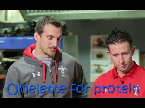 Dieting tips from rugby player Sam Warburton | WRU TV