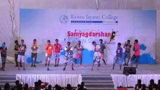 Kristu Jayanti College  Bangalore  Mallugang funny dance