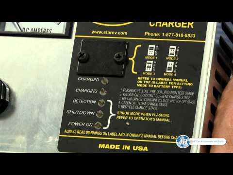 Golf Cart Charger Battery Maintenance
