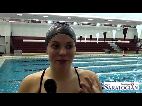 Saratoga Springs edges Burnt Hills girls swimming on the road