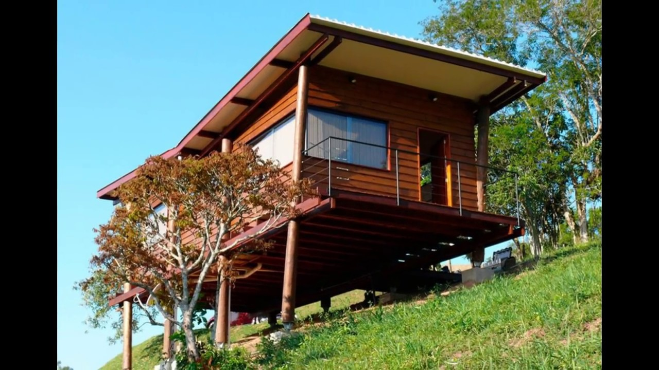 Small House Interior Design A Wooden In Brazil
