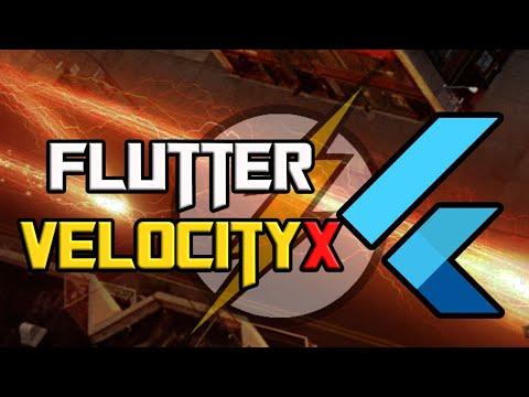 Announcing Flutter VelocityX   Super Productive Package