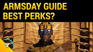 Destiny Taken King: Armsday Weapon Roll Suggestions (Nov 11)