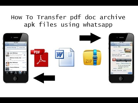 Send File Via WhatsApp | Share Docs, Pdf, Archives, Videos or Files up to 1 GB