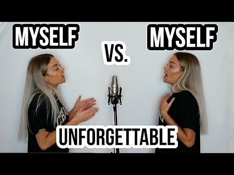 French Montana - Unforgettable (SING OFF Vs. MYSELF)