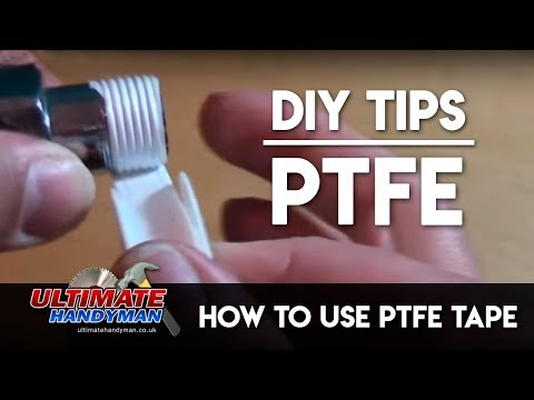 How to use PTFE tape - Ultimate Handyman DIY tips