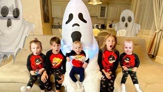 Five Kids and Ghost adventures - Story for children