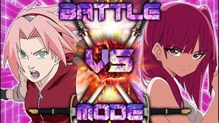 SAKURA vs MORGIANA (Naruto vs Magi) | BATTLE MODE | EP. 75  [Sprite Animation]