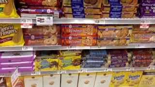 Favorite Cookie Aisle - PUBLIX - 2015. Inc., HAPPY BIRTHDAY  OREO, CHIPS AHOY 7 GOLDEN GRAHAMS - YUM