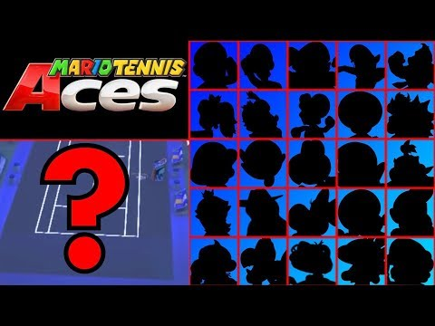 Download Youtube: Mario Tennis Aces - Character Roster Prediction!