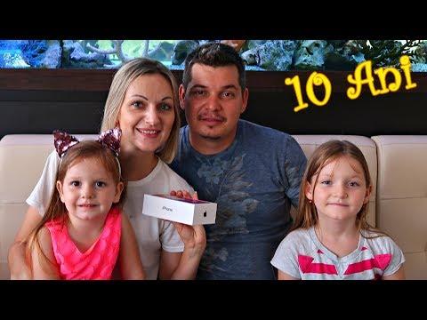 Iphone X pentru Mama! 10 ani de Casnicie Sarbatoarea Familiei Noastre!