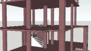 Ж/Б каркас двух этажного дома в черногории