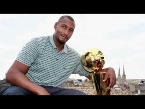 Spurs Championship Trophy Tour: Boris Diaw in France