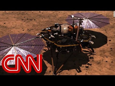 NASA's InSight probe lands on Mars