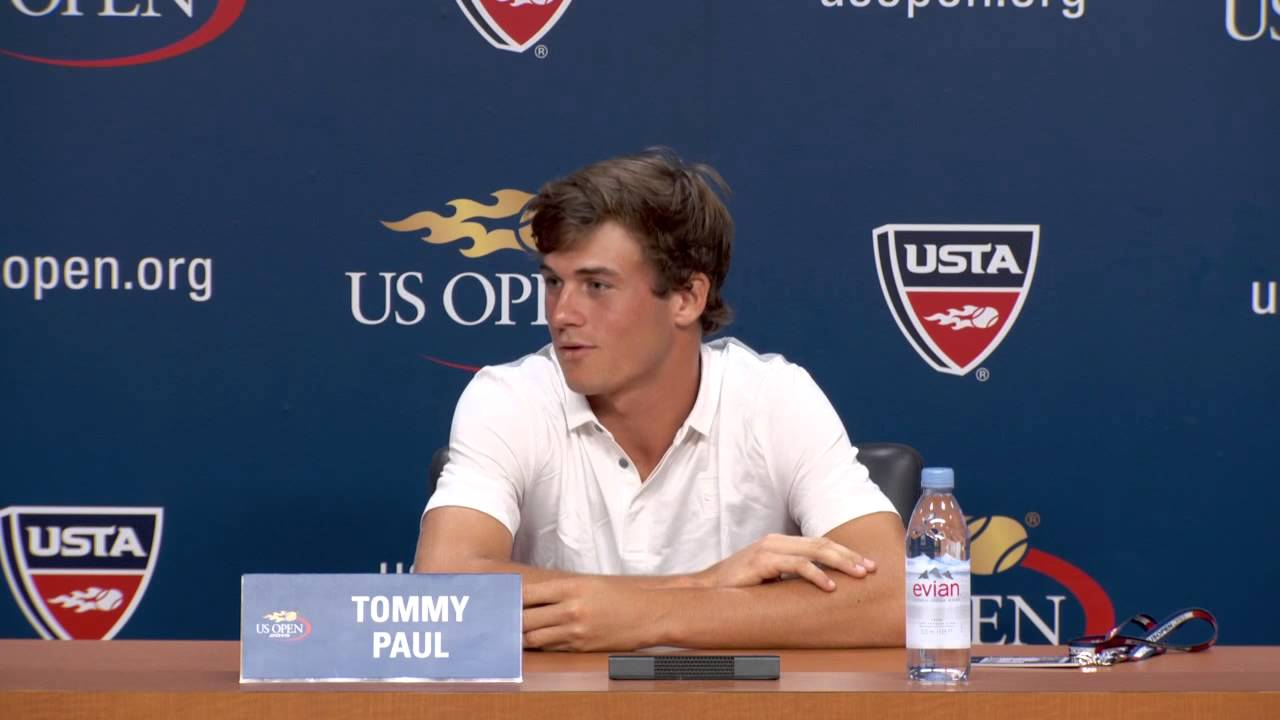 Open US 2015 Tennis Interview with Tommy Paul Boys' Final ...