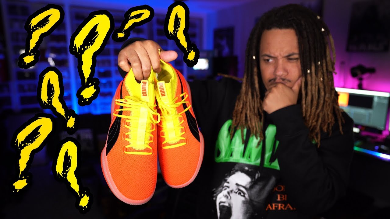 on sale 91c37 0025e Puma's New $120 Basketball Sneaker ! The PUMA CLYDE COURT DISRUPT Review +  On Foot