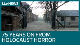 Horror of Auschwitz remembered 75 years on since liberation | ITV News