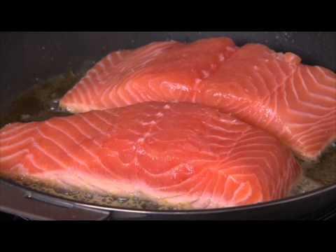recette-saumon-de-norvège-à-la-florentine